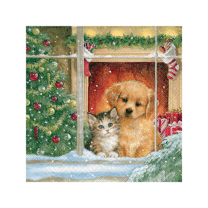 Szalvéta csomagban - Karácsony reggel