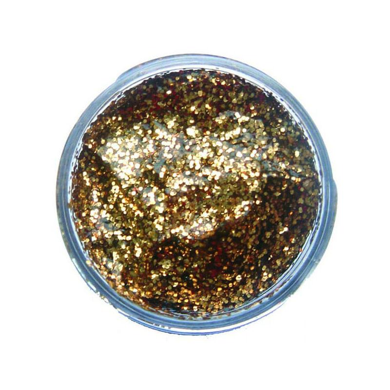 Snazaroo glitter gél - red gold