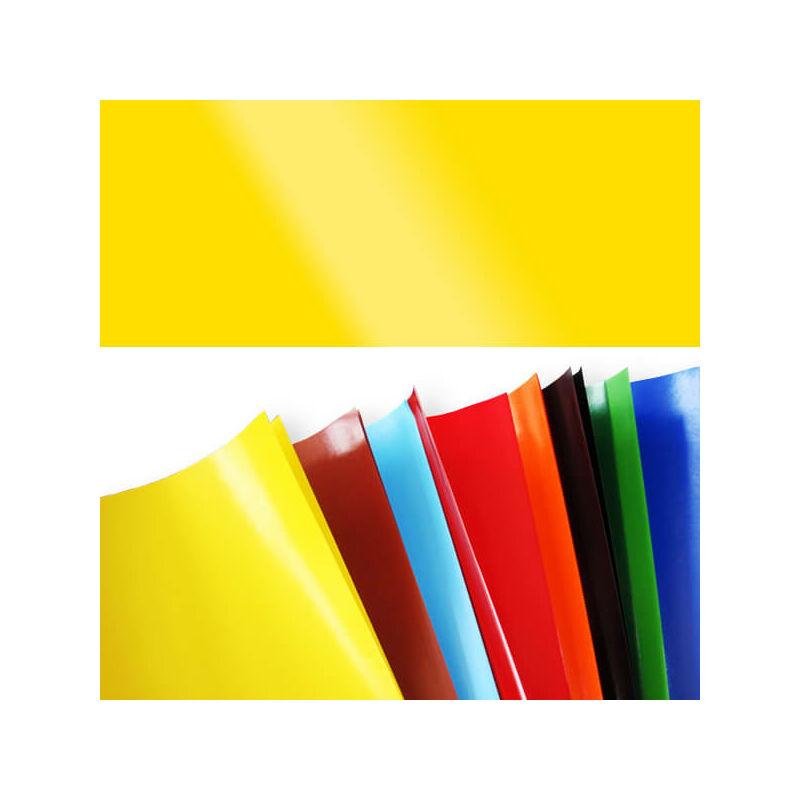 Fényes papír, 80 g, 35x43 cm - citromsárga