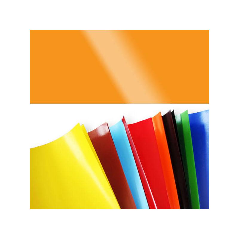 Fényes papír, 80 g, 35x43 cm - kukoricasárga
