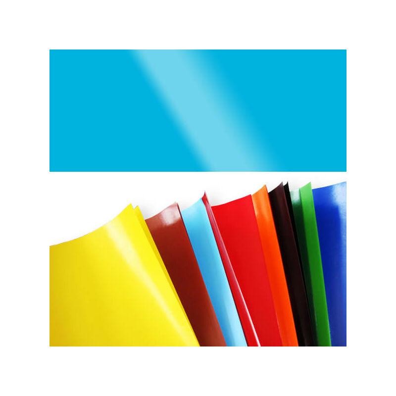 Fényes papír, 80 g, 35x43 cm - világoskék