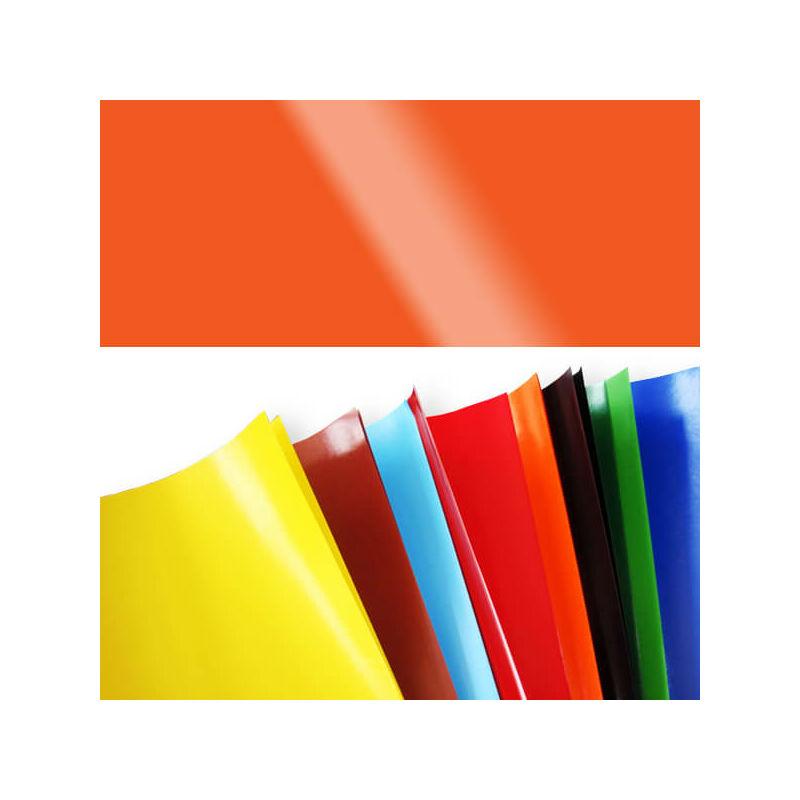 Fényes papír, 80 g, 35x43 cm - mandarin