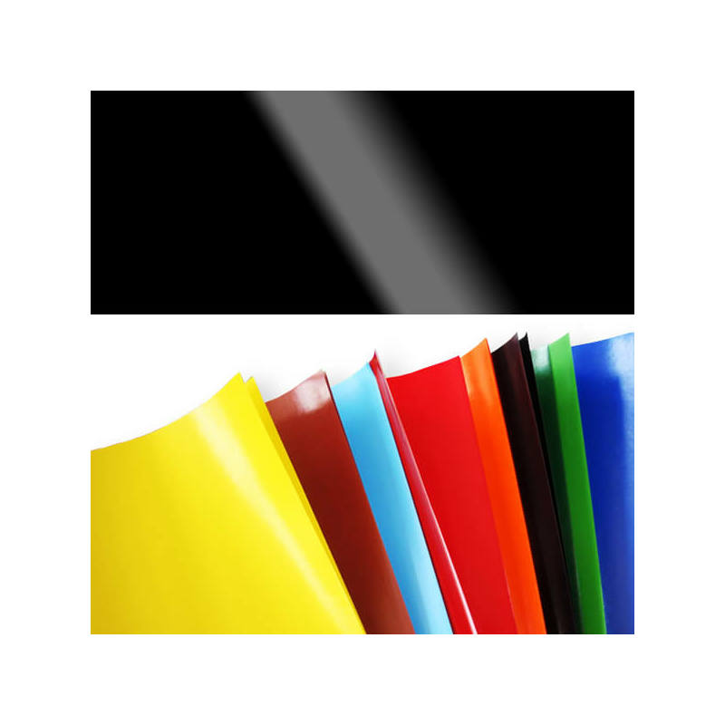 Fényes papír, 80 g, 35x43 cm - fekete