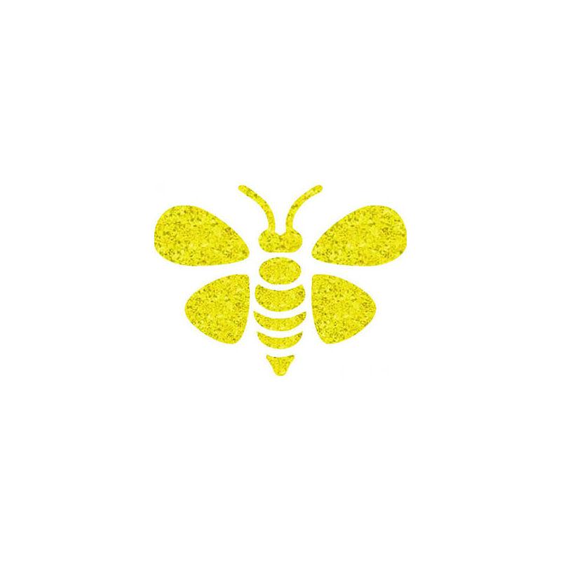 Tetováló sablon, öntapadós stencil - Méhecske