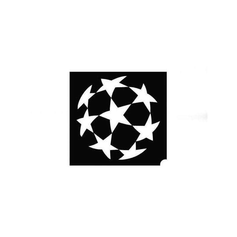 Tetováló sablon, öntapadós stencil - Bajnokok ligája