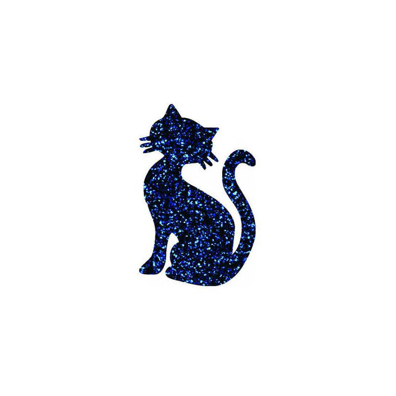 Tetováló sablon, öntapadós stencil - Cica 3