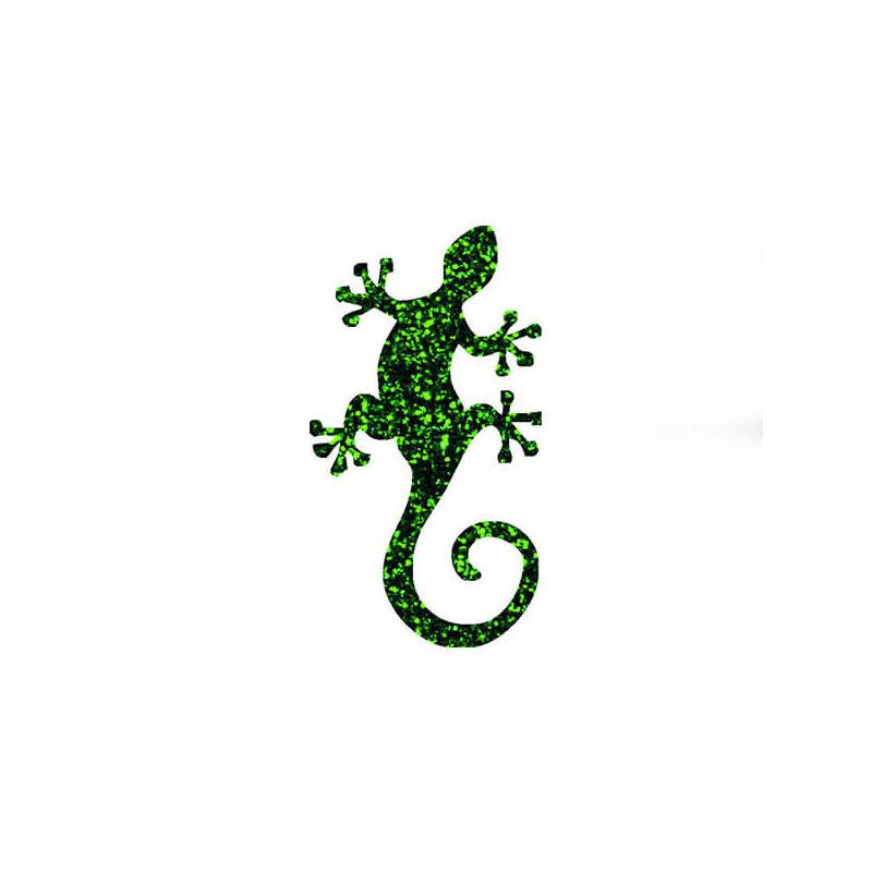 Tetováló sablon, öntapadós stencil - Gyík
