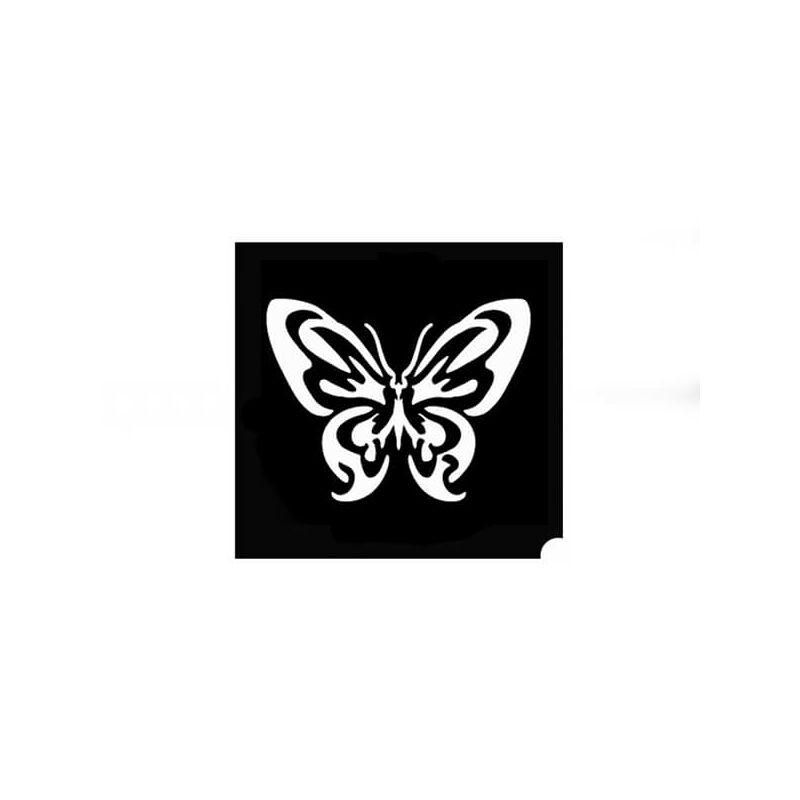 Tetováló sablon, öntapadós stencil - Pillangó