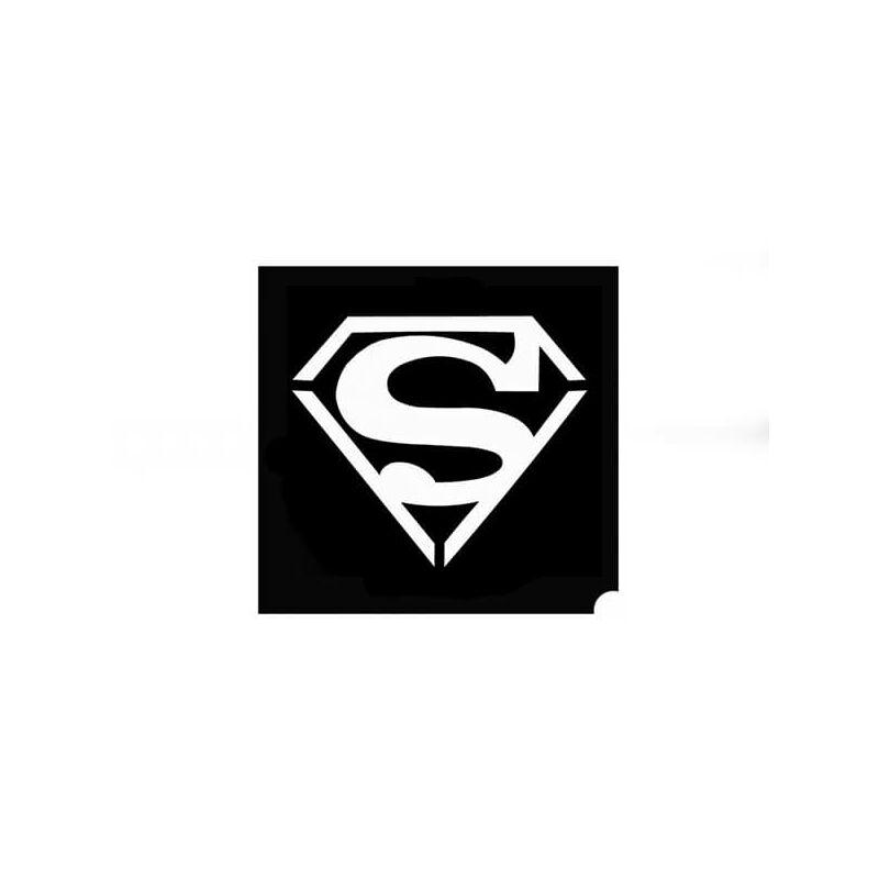 Tetováló sablon, öntapadós stencil - Superman
