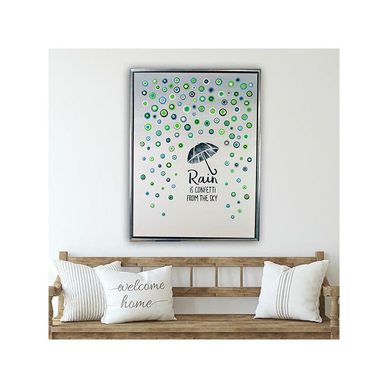 Pöttyöző festék készlet, Blob paint, 6x90 ml - Esernyő