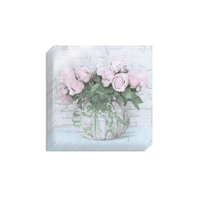 Szalvéta csomag, Sagen - Váza virágokkal