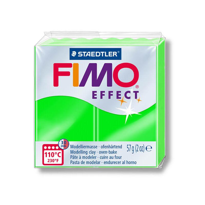 FIMO Neon Effect süthető gyurma, 57 g - neon zöld (8010-501)