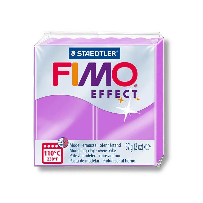 FIMO Neon Effect süthető gyurma, 57 g - neon lila (8010-601)