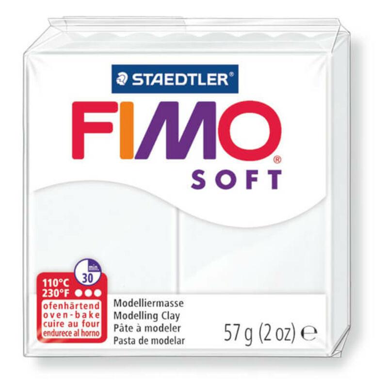 FIMO Soft süthető gyurma, 57 g - fehér (8020-0)