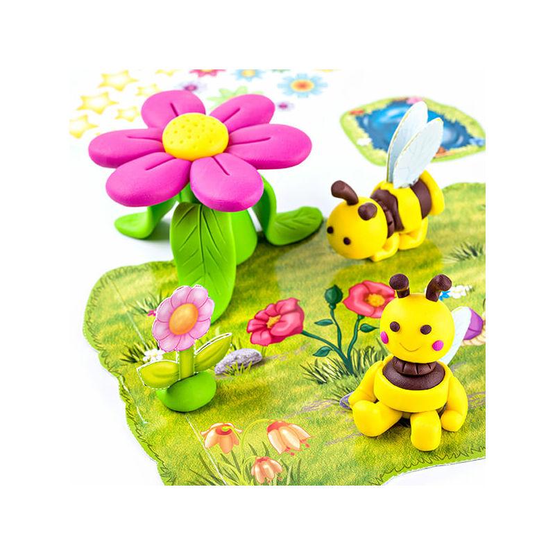 FIMO Kids süthető gyurma készlet, Form & Play - 4x42 g - méhek minta
