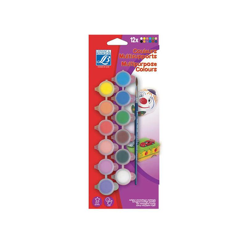 Akrilfesték készlet gyerekeknek - 12x5 ml, Junior