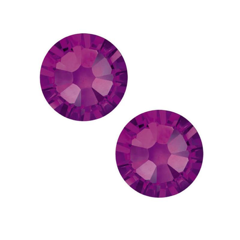 2058 Swarovski Xilion Rose ragasztható kristály, SS5 (1,8 mm) - Amethyst