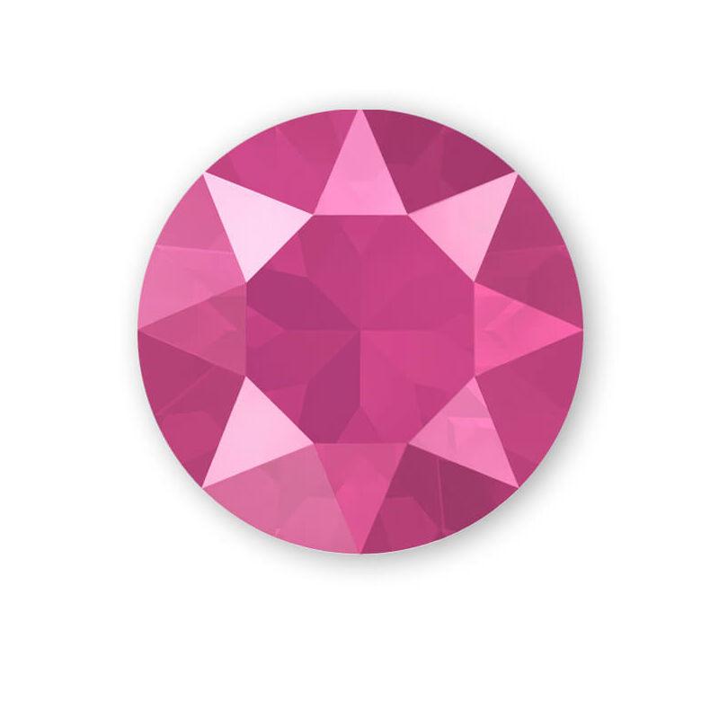 1088 Swarovski Xirius Chaton kristály, SS39 (8 mm) - Crystal Peony Pink