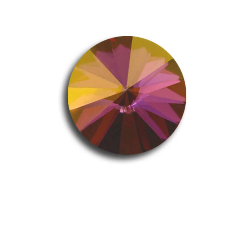 1122 Swarovski Rivoli SS60 (14 mm) - Crystal Lilac Shadow