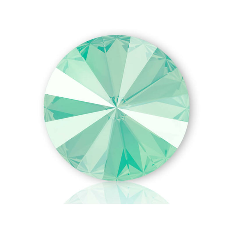 1088 Swarovski Xirius Chaton kristály, SS39 (8 mm) - Crystal Mint Green