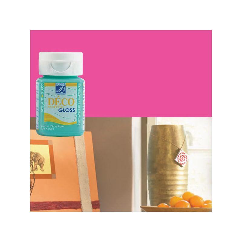 Deco Gloss fényes akrilfesték, 50 ml - fuchsia