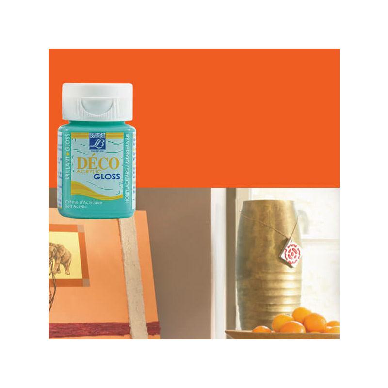 Deco Gloss fényes akrilfesték, 50 ml - geranium