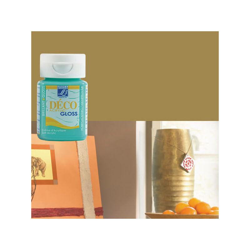 Deco Gloss fényes akrilfesték, 50 ml - gold