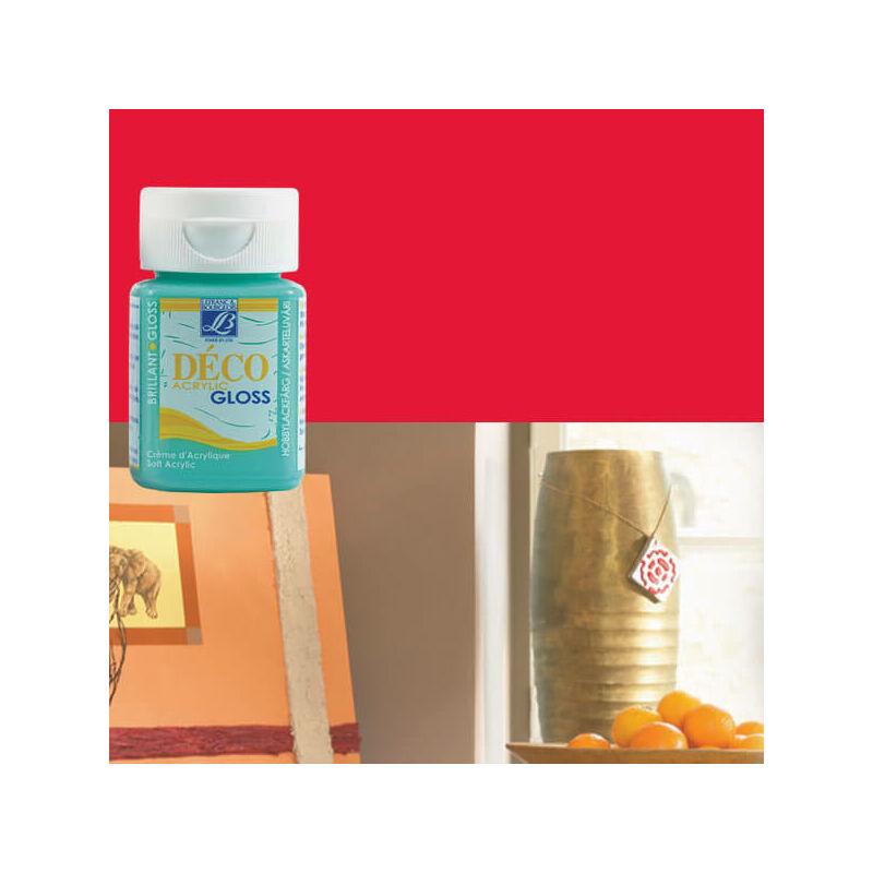 Deco Gloss fényes akrilfesték, 50 ml - grenadine