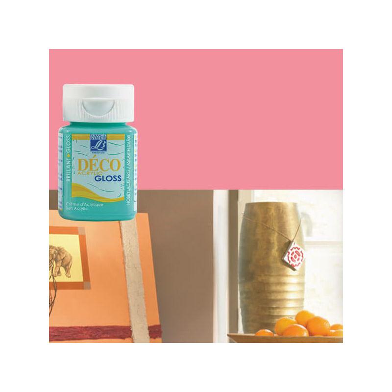 Deco Gloss fényes akrilfesték, 50 ml - pink