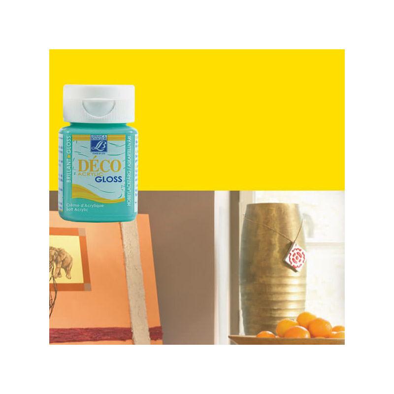 Deco Gloss fényes akrilfesték, 50 ml - sun