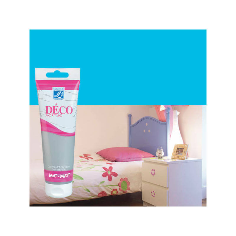 Home Deco matt akrilfesték, 120 ml - campanula blue