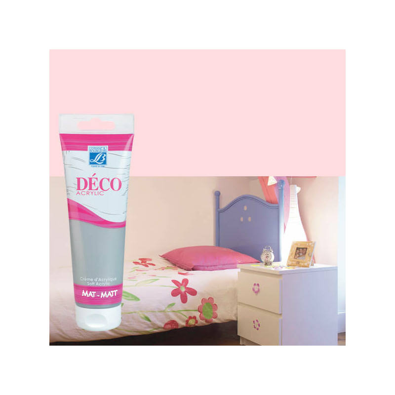 Home Deco matt akrilfesték, 120 ml - wedding pink