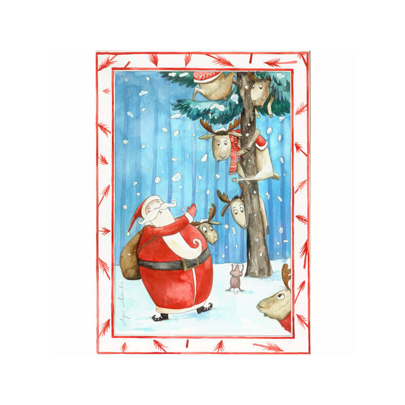 Egri Mónika kifestő, Karácsonyi - Félős brigád