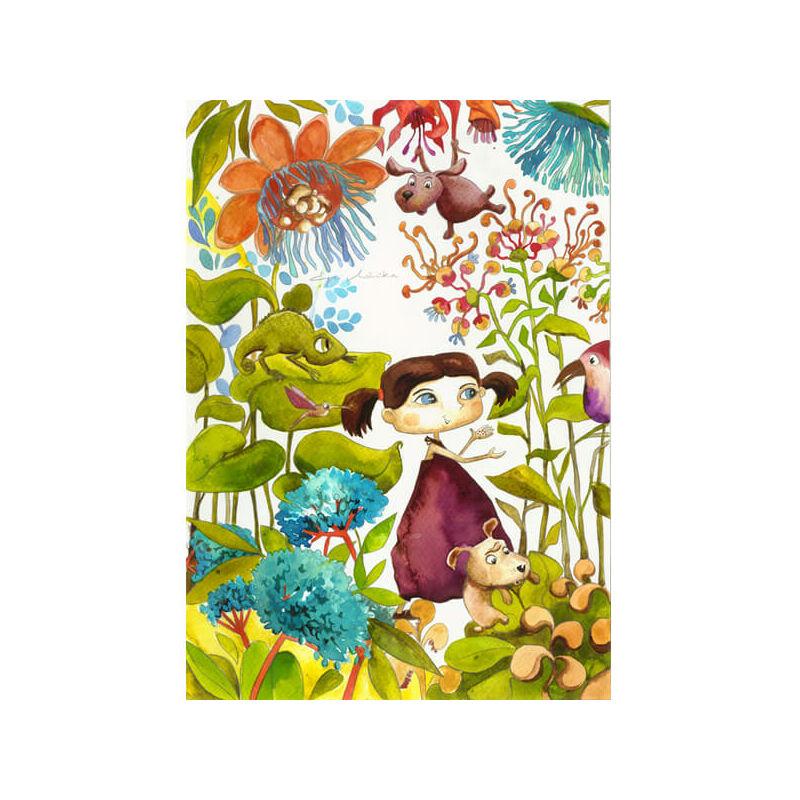 Egri Mónika kifestő, Gyerek figurák - Trópusi kaland