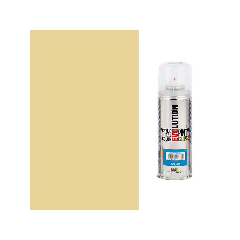 Akrilfesték spray, EVOLUTION fényes, 200 ml - 1001 bézs