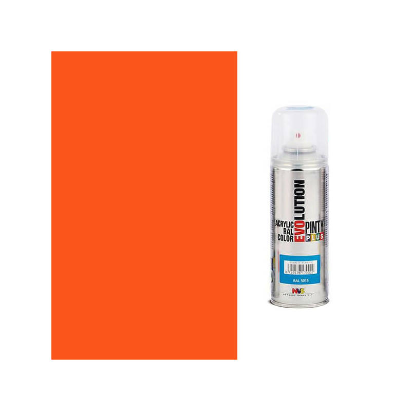 Akrilfesték spray, EVOLUTION fényes, 200 ml - 2004 narancssárga