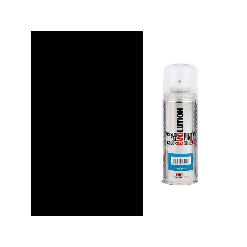 Akrilfesték spray, EVOLUTION matt, 200 ml - 9005 fekete
