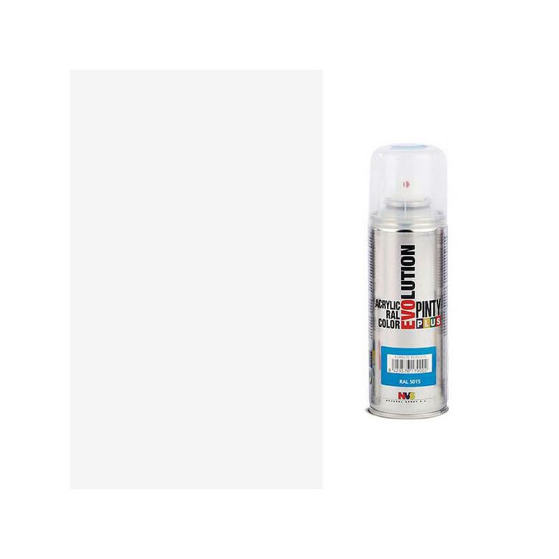 Akrilfesték spray, EVOLUTION selyemfényű, 200 ml - 9010 fehér