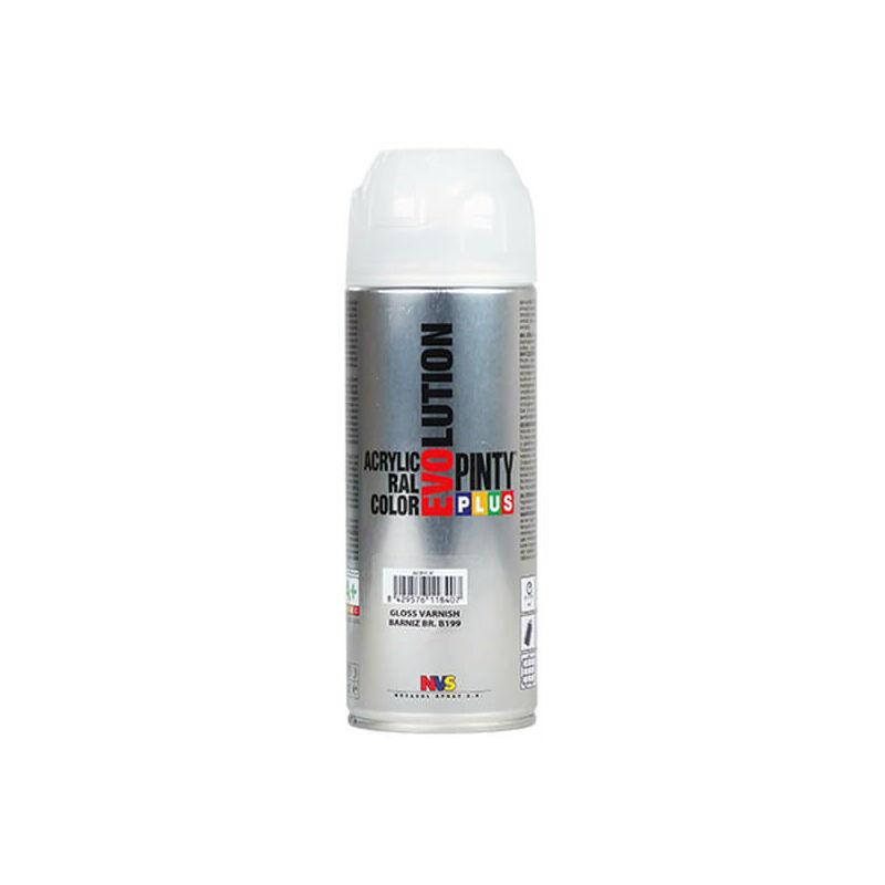 Akrillakkspray, EVOLUTION, 400 ml - selyemfényű