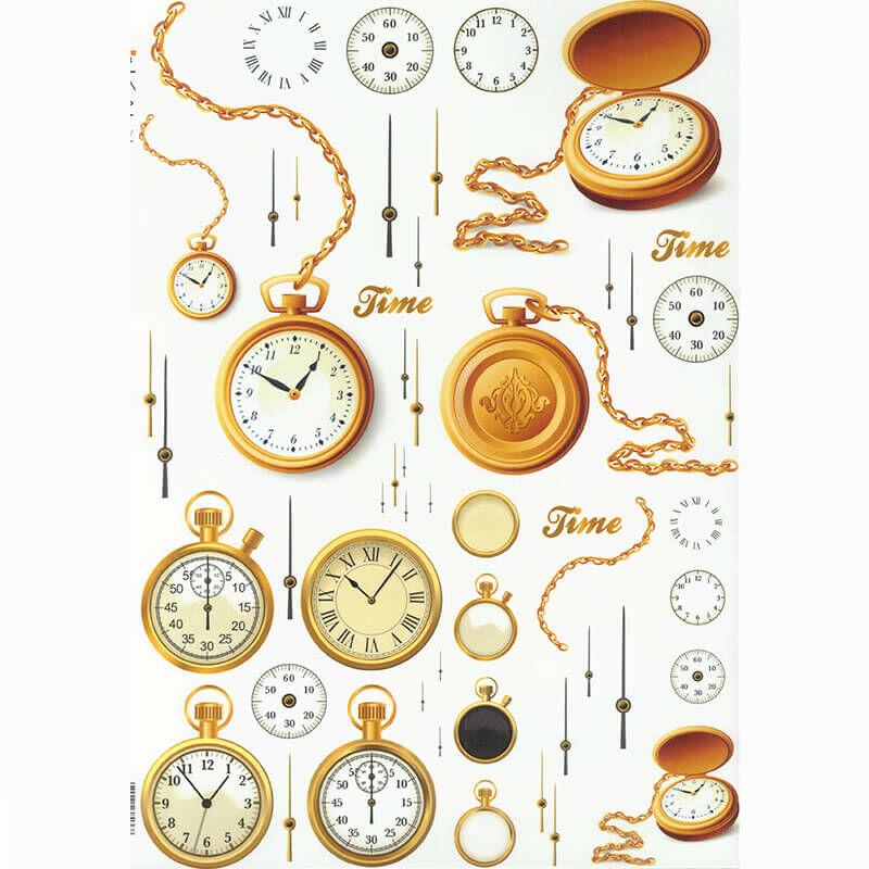 Rizspapír - órák