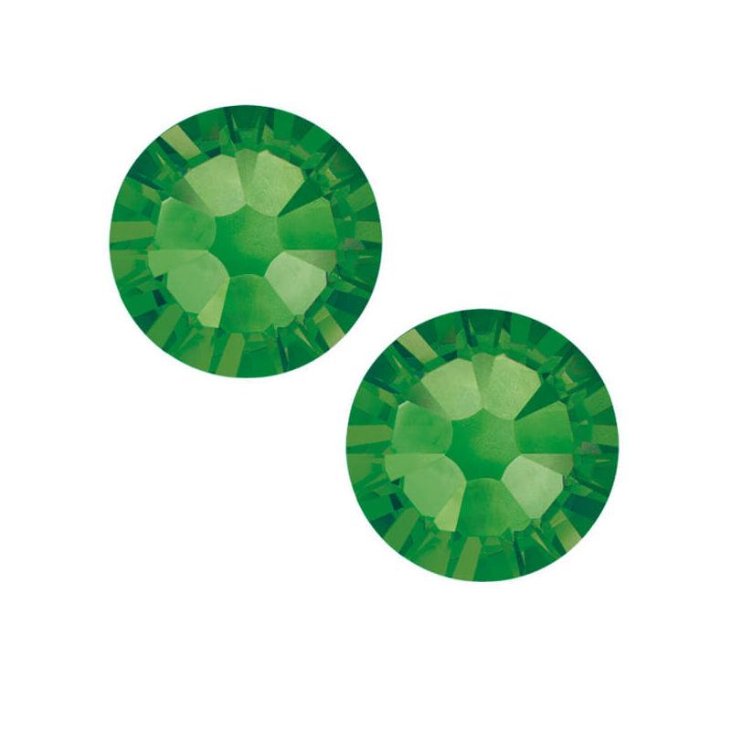 2058 Swarovski Xilion Rose ragasztható kristály, SS12 (3,1 mm) - Fern Green