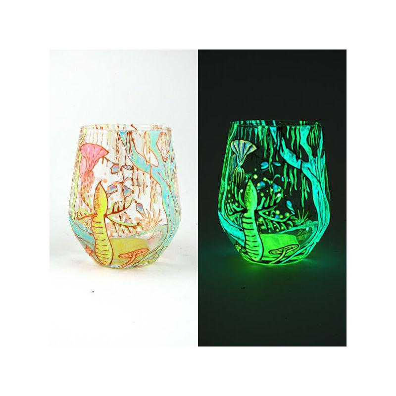 UnikromGlow világító festék, 30 g - citrom
