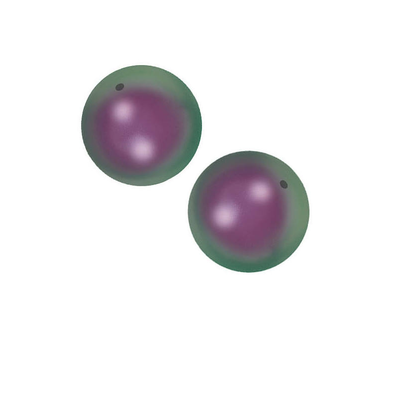 5810 Swarovski igazgyöngy utánzat, 3 mm - Iridescent Purple Pearl