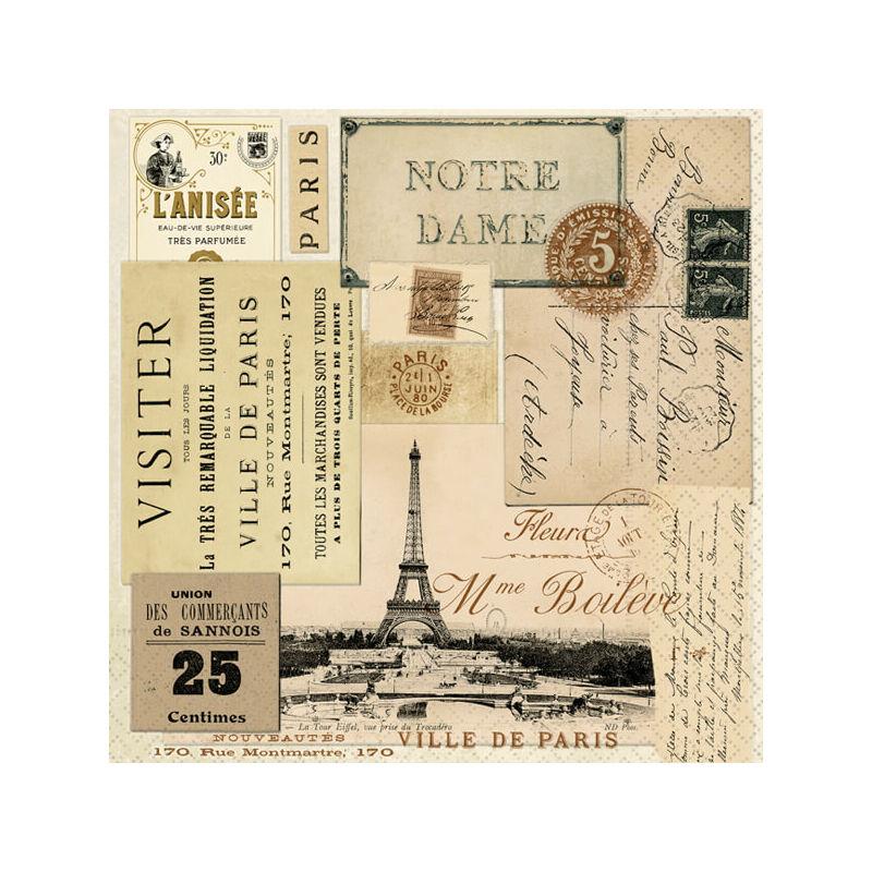 Szalvéta csomagban - Párizs városából