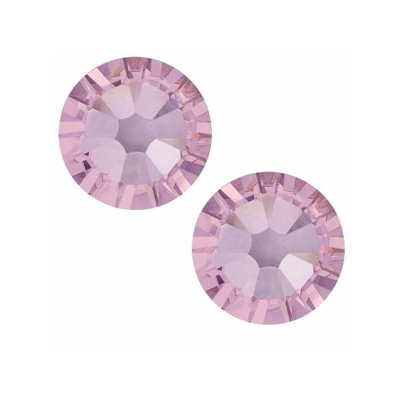 2078 Swarovski Xilion Rose Hotfix vasalható kristály, SS12 (3,1 mm) - Light Amethyst