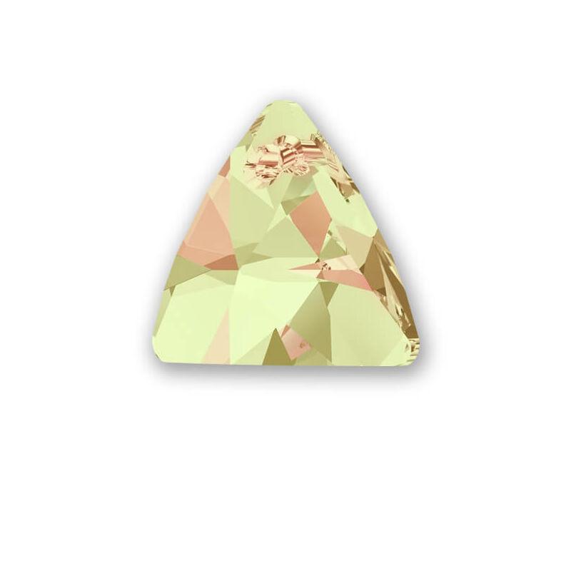 6628 Swarovski Triangle függő, 16 mm - Crystal Lumnious Green
