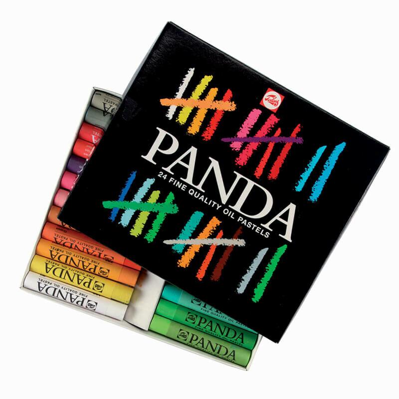 Talens Panda olajpasztell (zsírkréta) készlet - 24 db