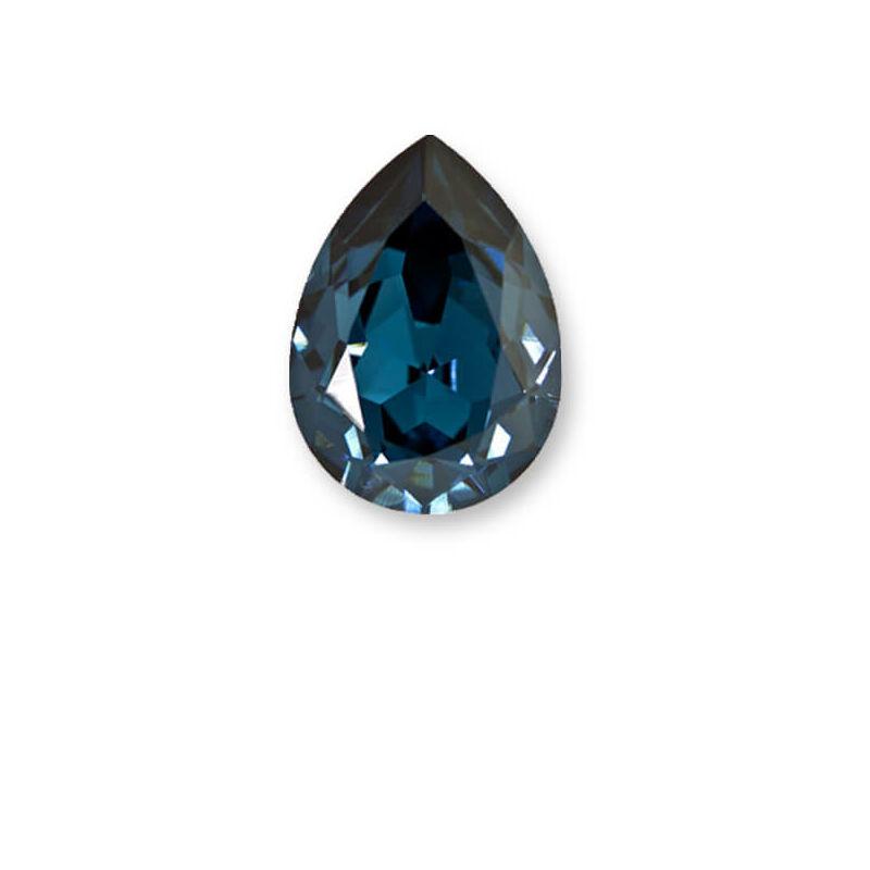 4320 Swarovski csepp alakú befoglalható kristály, 14x10 mm - Montana