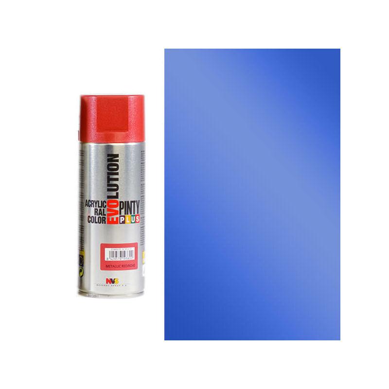Akrilfesték spray, EVOLUTION metál, 400 ml - M154 kék