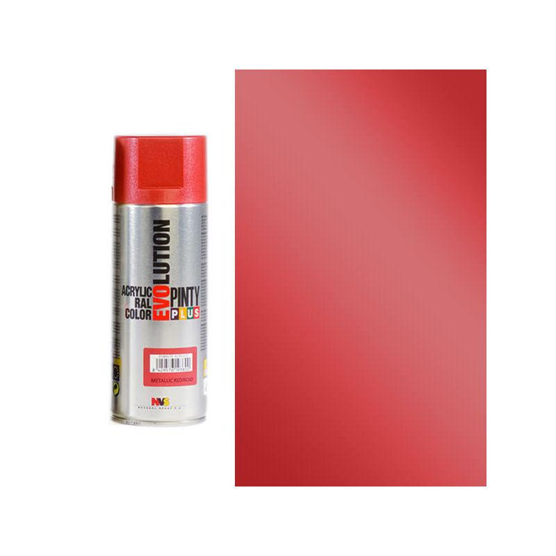 Akrilfesték spray, EVOLUTION metál, 400 ml - M155 piros